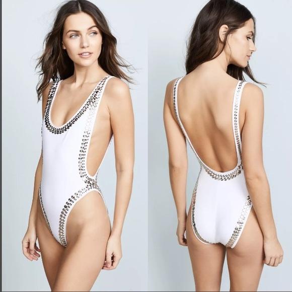 bf1c8e8114ae Norma Kamali Swim | Stud Marissa One Piece Suit Xs | Poshmark